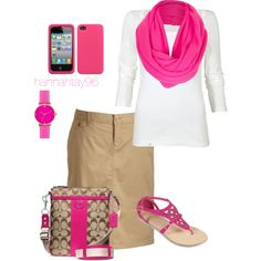 A fashion look from February 2013 featuring Old Navy skirts, Journee Collection sandals and Coach shoulder bags. Browse and shop related looks.