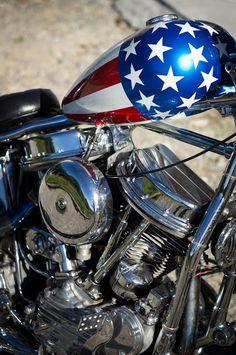 Les Harley de Mr Guillaume.