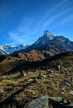 Mt. Fishtail, Nepal www.riverholidaysnepal.com