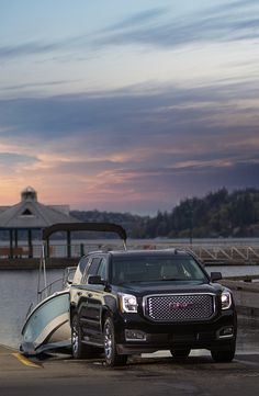 We recently sent a Boston Whaler out on a Pacific Northwest trailering adventure with GMC. The 2015 Yukon Denali, with Trailer Sway Control, was a perfect vehicle to deliver the 170 Dauntless to Lake Washington. Read about the trip: http://www2.bostonwhaler.com/l/47972/2014-09-09/5mxc