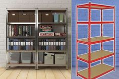 5-Tier Shelf 'Z Rax' Racking