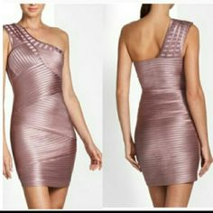 BCBG max azria dress BCBG maxazria dress. Size 2. Worn only once. Mint condition. very flattering and classy. Moving so everything must go!! BCBGMaxAzria Dresses Mini