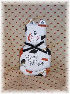 Painted Paver Callie Cat
