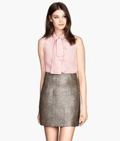 9d27da2c0329 Product Detail   H M DE Seide, Bluse, Tie Kravatte Bluse, Ärmellose Bluse,
