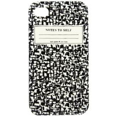 Kate Spade New York Composition Notebook Resin Phone Case ($40) found on Polyvore