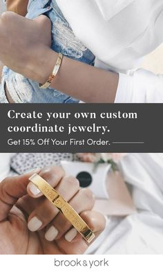 Elevate your look with sleek and sophisticated custom coordinate jewelry from brook & york. Created for women, by women, brook & york celebrates the many possible expressions of American style with timeless materials, thoughtful design and dedicated craftsmanship. Shop the collection today amd save 15% off your first order.