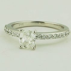 Designer Engagement Ring Shared Prong Setting | Brilliant Earth Rings