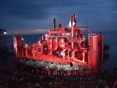 #Bregenz Opera Festival Constanze Lake Stage