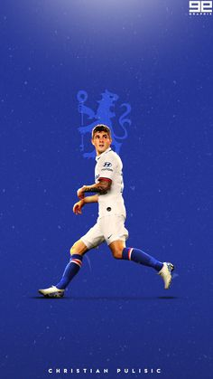 Christian Pulisic | Chelsea FC Club Chelsea, Chelsea Fans, Chelsea Football, Chelsea Wallpapers, Chelsea Fc Wallpaper, Soccer Backgrounds, Chelsea Fc Players, Christian Pulisic, Youth Games