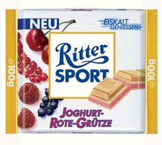 RITTER SPORT Joghurt-Rote-Grütze (2002)