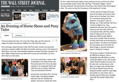 My Little Pony custom by Martin Hsu on The Wall Journal