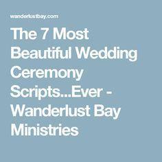 Wedding Ceremony Readings, Wedding Ceremony Script, Unity Ceremony, Wedding Programs, Wedding Tips, Wedding Ceremonies, Wedding Stuff, Nontraditional Wedding Ceremony, Dream Wedding