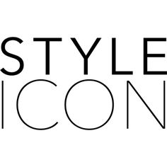 Style Icon text ❤ liked on Polyvore featuring text, words, articles, phrase, quotes and saying