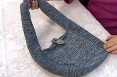Free knitting pattern: Bag