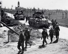 Lancashire Fusiliers Photographs  WW2, Ferrara (Italy) 1945 - note the Achilles tank destroyer, pin by Paolo Marzioli