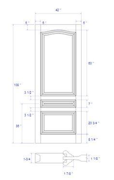 Interior Door Trim, Door Design Interior, Wooden Main Door Design, Wood Design, Flush Doors, Door Detail, Wall Molding, Woodworking Joints, Old Doors