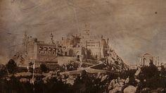 Palácio da Pena, fotografado em 1848 por Wenceslau Cifka