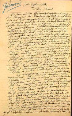 """manuscrito de  """"El inconsciente"""" de Sigmund Freud"""