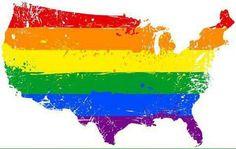 America coloured in ;)
