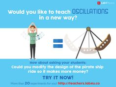 #oscillations #teach #physics #free #supplement #education #science #teachers #Lab4Physics #labs #lab #students