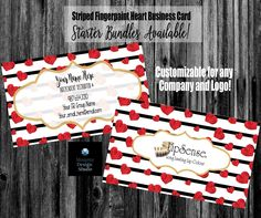 Black Striped Red Hearts Lips Business Card - Lipstick Business Card - Application Instructions - Referral - Makeup Artist - Any Company Printing Services, Online Printing, Lipsense Business Cards, Jamberry Business, Long Lasting Lip Color, Elegant Business Cards, Name Logo, Lip Colour, Red Hearts