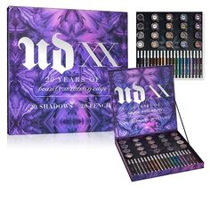 A l'occasion des 20 ans d'anniversaire de la marque américaine Urban Decay lance UD XX, une nouvelle palette de maquillage spécial regard. Découverte.