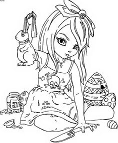 Free Barbie Coloring Pages free printable coloring page