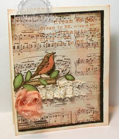 Dream to BE by JenMarie - Cards and Paper Crafts at Splitcoaststampers