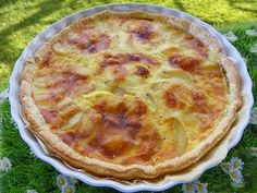 TARTE RACLETTE (thermomix) Quiches, Empanadas, Pizza Burgers, Entrees, Brunch, Food And Drink, Nutrition, Cooking, Breakfast