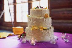 White Country Wedding Cake