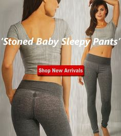 Stoned Baby Sleepy Pants --> the perfect gift for those who love to be comfy | get a pair for yourself or a loved one only on Appleletics.com! | Shop more NEW ARRIVALS