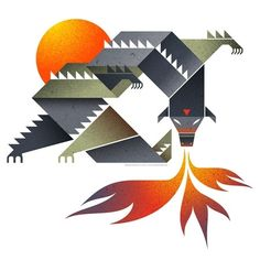 """Dragon.jpg (JPEG Image, 450x…"" on Designspiration"