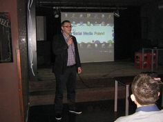 4.04.2012, Cracow: Siła rażenia Social Media: propaganda.   Krystian