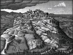 MC Escher Lithographs