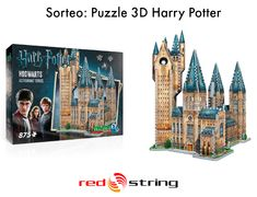 Sorteo Internacional Puzzle 3D Harry Potter