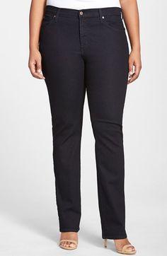 Plus Size Women's James Jeans 'Hunter Z' Stretch Straight Leg Jeans