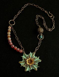 Earth Star Necklace | Flickr - Photo Sharing!