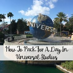 What To Pack For A Day In Universal Studios - The Wandering Weekenders