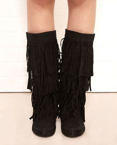 Fringe boots, Womens boots on sale and Wet seal on Pinterest