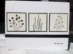 handmade card ... inchies ... black and white ... Pocket Silhouettes ...