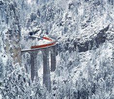 Landwasser viaduct, Switzerland.... - Pixdaus