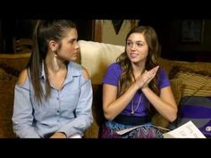 "Sadie Robertson and her friend have this great show called ""The New Different"" where they talk about different topics and relate them to the Bible for only a few minutes. I would encourage you guys to watch them!"