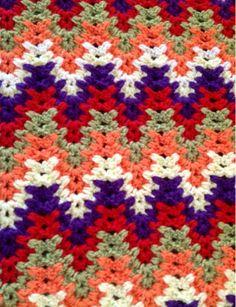 Ablamın ördüğü bu güzel battaniyeyi paylaşmak istedim. Renkleri , örneği çok hoşuma gitti. Ablam diz battaniyesi olarak kullanıyor. Bizd... Crochet Ripple Afghan, Crochet Blanket Patterns, Baby Blanket Crochet, Afghan Patterns, Crochet Afgans, Crochet Yarn, Crochet Crafts, Crochet Stitches, Yarn Cake