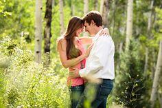 Engagement Photography in Snowmass Jason+Gina Wedding Photographers http://www.jason-gina.com #snowmass #aspen #engagement