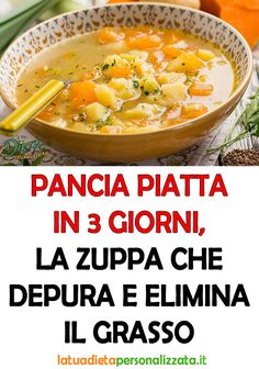 Detox Recipes, Soup Recipes, Vegan Recipes, Cooking Recipes, Antipasto, Health And Fitness Expo, Italy Food, Savoury Dishes, Light Recipes