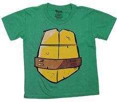 Michaelangelo Costume - Teenage Mutant Ninja Turtles Juvenile T-shirt