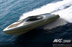 KeyframeStudio, MAS 36, Speed Boat, Luxury Yacht