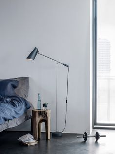 Designed in 1952 by Birger Dahl (and relaunched by Northern Lighting in 2013), Birdy (pictured in grey metallic) is a delightful modernist table lamp.