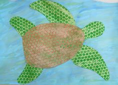 Art. Paper. Scissors. Glue!: Sea Turtles
