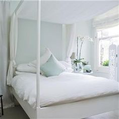 """this looks so """"cool"""" for summer - color is pale powder (Farrow & Ball) with wimborne white trim. Looks so soothing, especially after a hard day working in the garden! Pavilion Grey, Pavilion Design, Park Pavilion, Outdoor Pavilion, Pavilion Wedding, Pavilion Architecture, Sustainable Architecture, Landscape Architecture, Relaxing Bedroom Colors"""